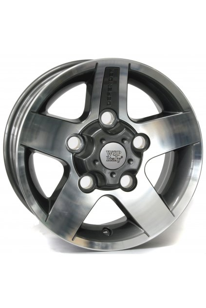 WSP LANDROVER MALI 7.0x16.0 ET33 5x165 ANTHRACITE POLISHED