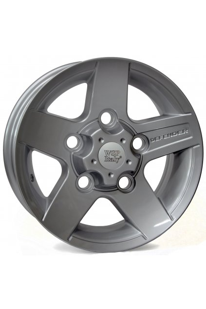WSP LANDROVER HOVE 8.0x16.0 ET25 5x165 SILVER