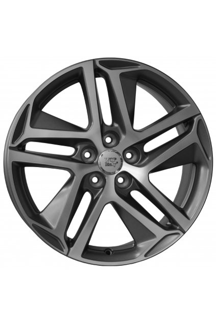 WSP PEUGEOT BREST 7.5x17.0 ET44 5x108 MATT GM POLISHED