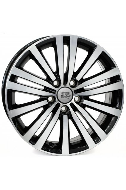 WSP VW ALTAIR 7.5x17.0 ET47 5x112 GLOSSY BLACK POLISHED