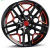 Disk Borbet GTY 8.5x19 ET45 5x112 black red glossy
