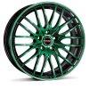 Disk Borbet CW4 8x18 ET48 5x112 black green leskly