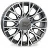 WSP FIAT CENTO 6.0x15.0 ET39 5x98 ANTHRACITE POLISHED