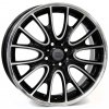 WSP MINI RIVERS 7.0x18.0 ET52 4x100 GLOSSY BLACK POLISHED