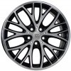WSP MINI BEIJING 7.0x18.0 ET54 5x112 GLOSSY BLACK POLISHED