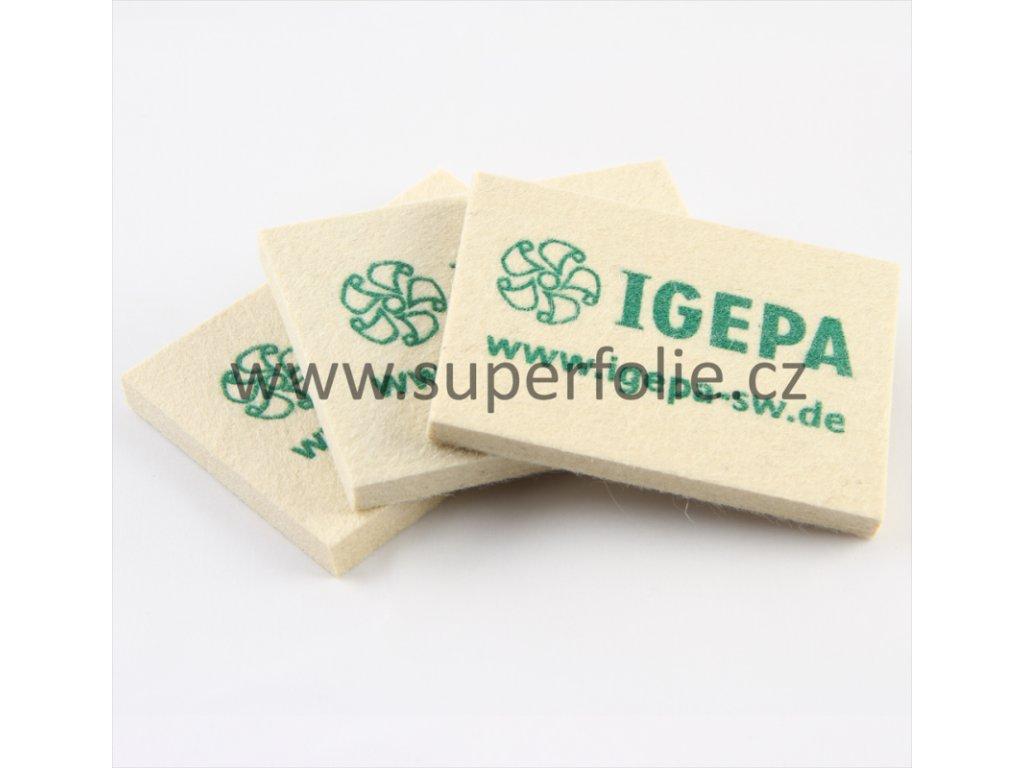 IGEPA Celoplstěná stěrka IGEPA - montážní pomůcka pro instalaci autofolie