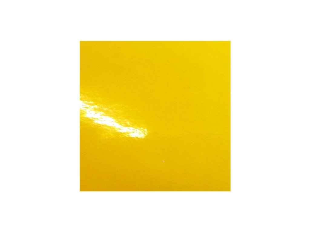 KPMF Autofólie Slunečnicově žlutá lesklá bez kanálků