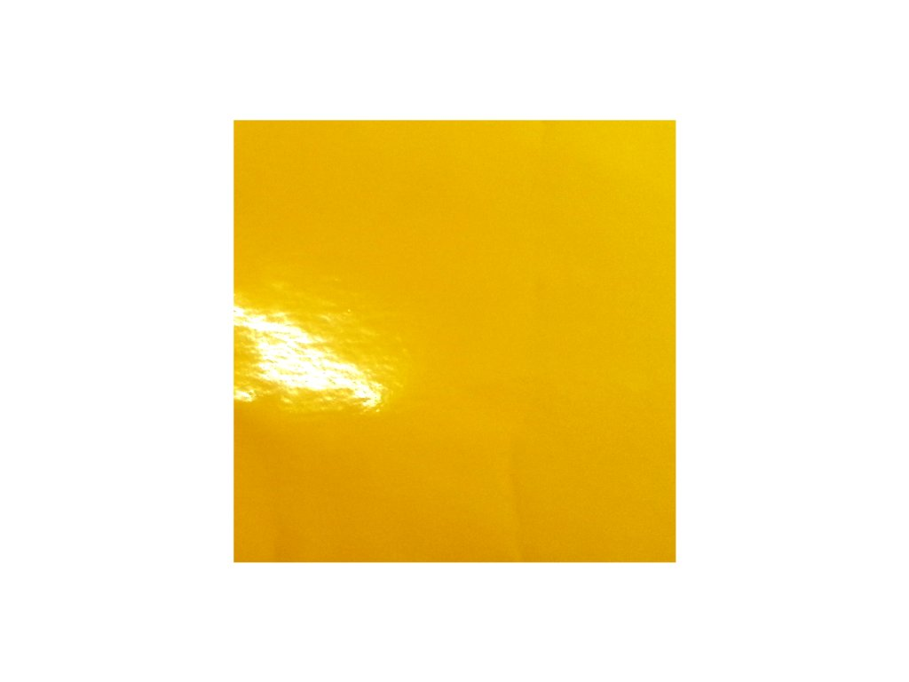 KPMF Autofólie Slunečnicově žlutá lesklá kanálky