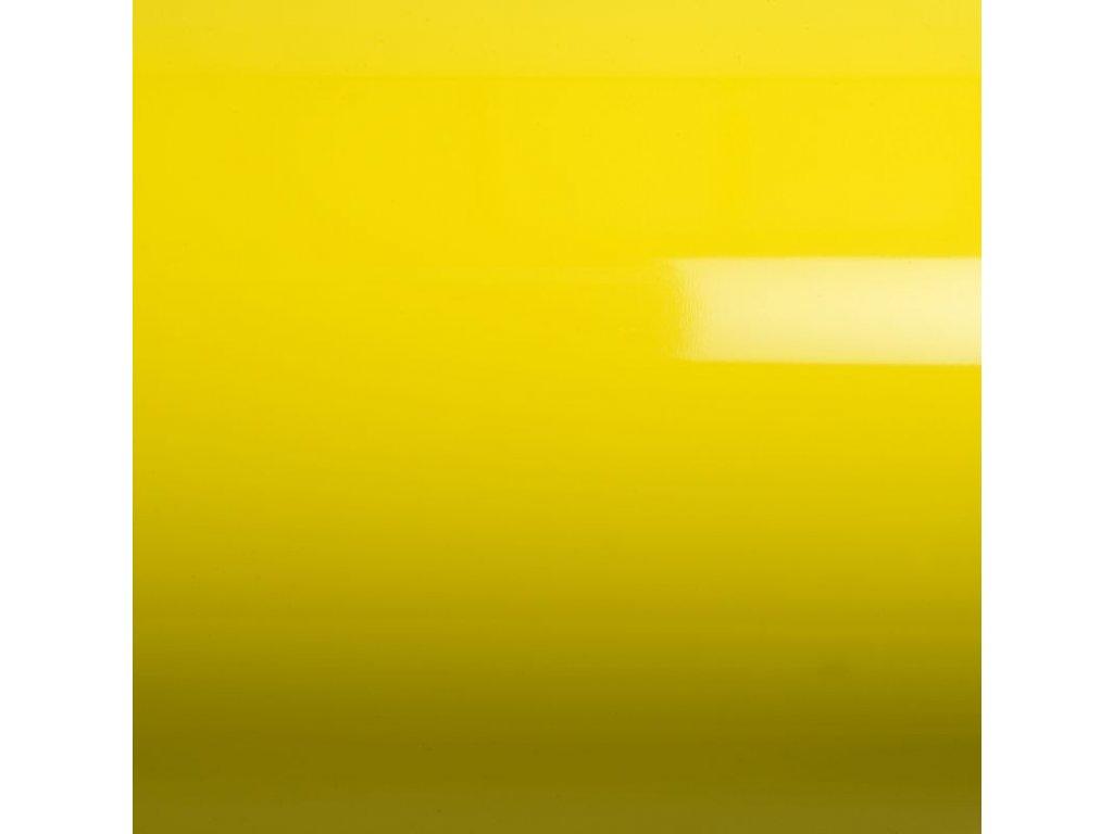 Grafiwrap autofólie Žlutá lesklá kanálky