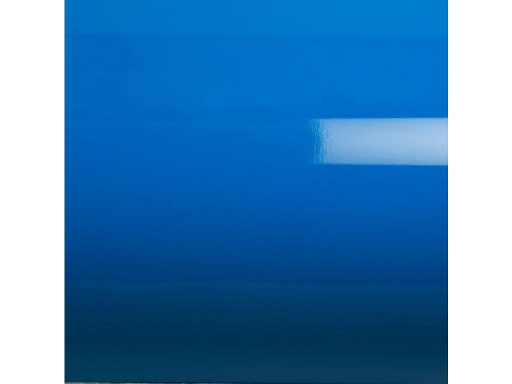 Grafiwrap autofólie Modrá lesklá kanálky