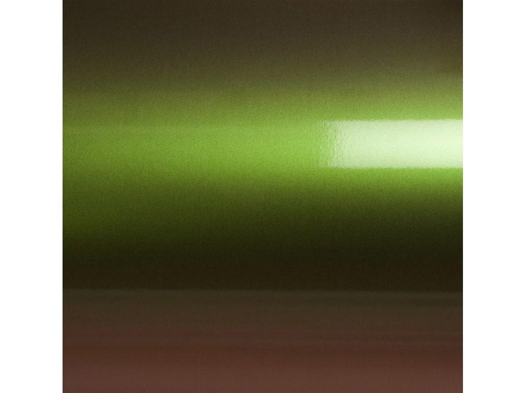 Grafiwrap Autofólie Zelená laser chameleon bez kanálků