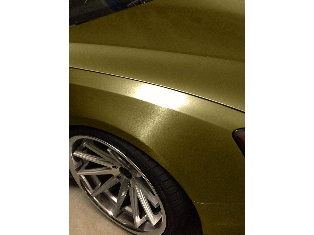 Zlatý broušený hliník