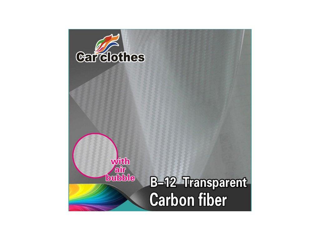 Superfolie Autofólie na světla Transparentní karbonová fólie, kanálky