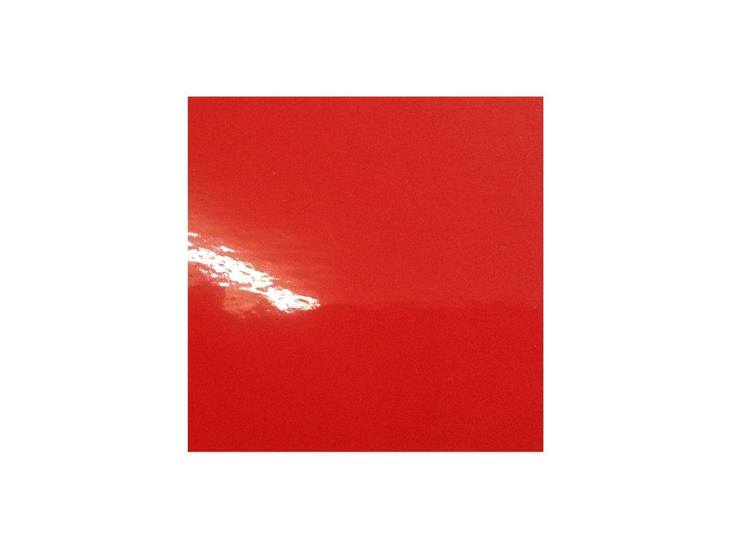 KPMF autofólie Rajčatově červená lesklá kanálky
