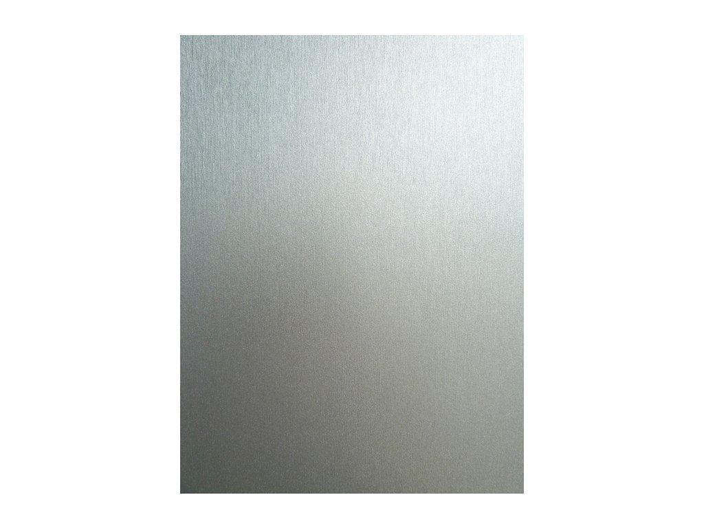 Grafiwrap autofólie Stříbrný broušený hliník kanálky