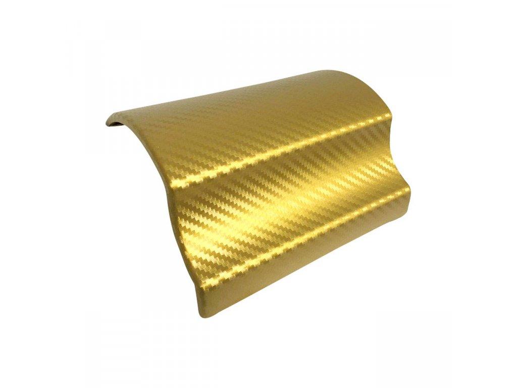 3D chrome gold karbon