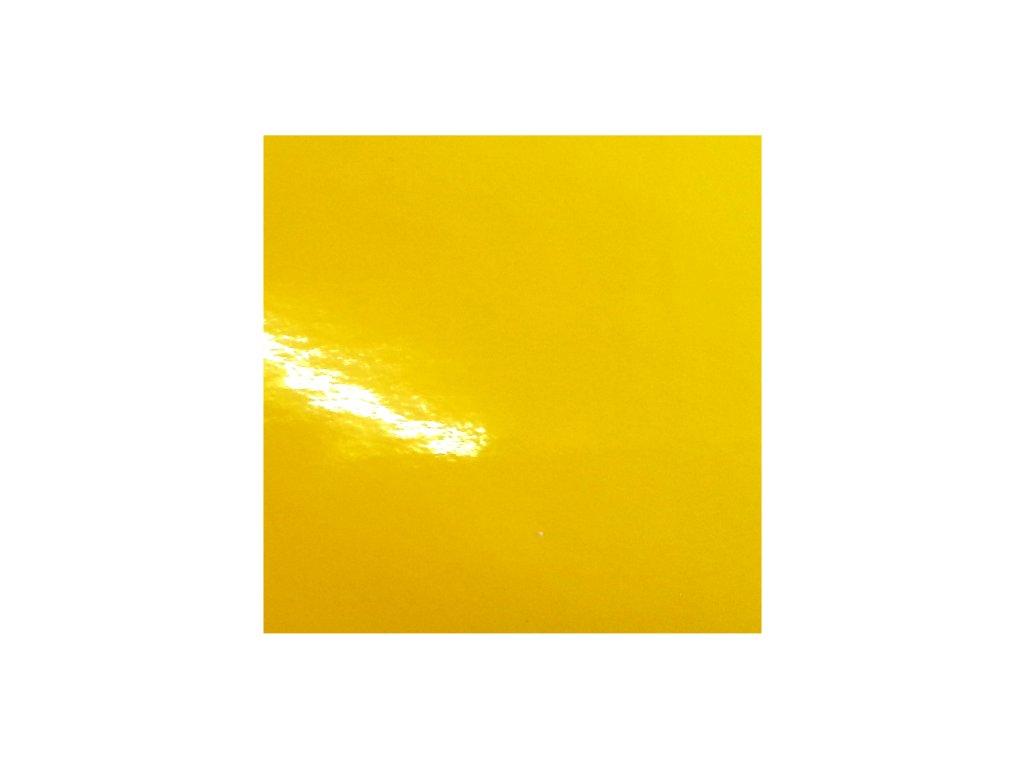 KPMF Autofólie Taxi žlutá lesklá kanálky