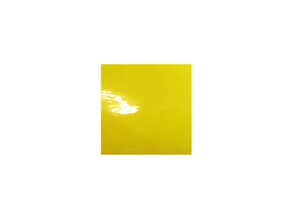 KPMF Autofólie Petrklíčová žlutá lesklá bez kanálků