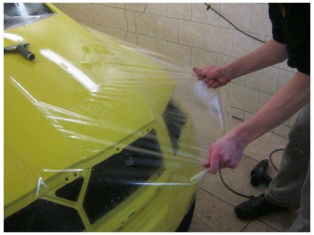 KPMF autofólie Transparentní ochranná lesklá PU  150um