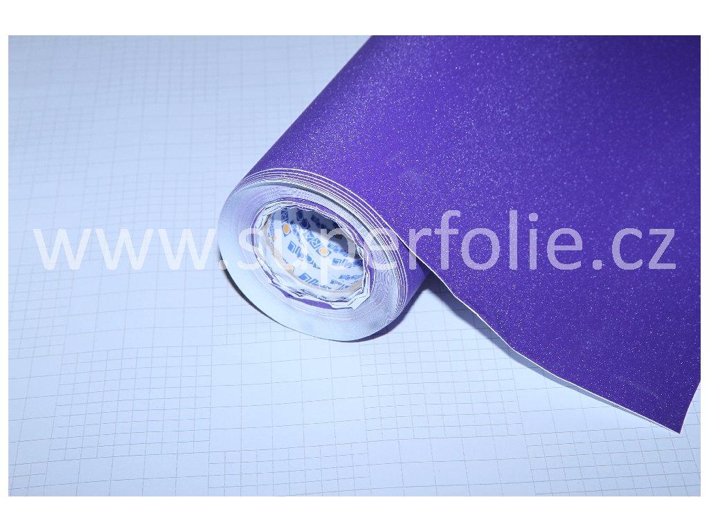 Superfolie autofólie Brilliant diamond fialový, kanálky