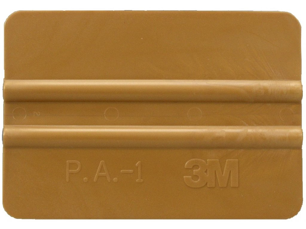3m gold squeegee 4in