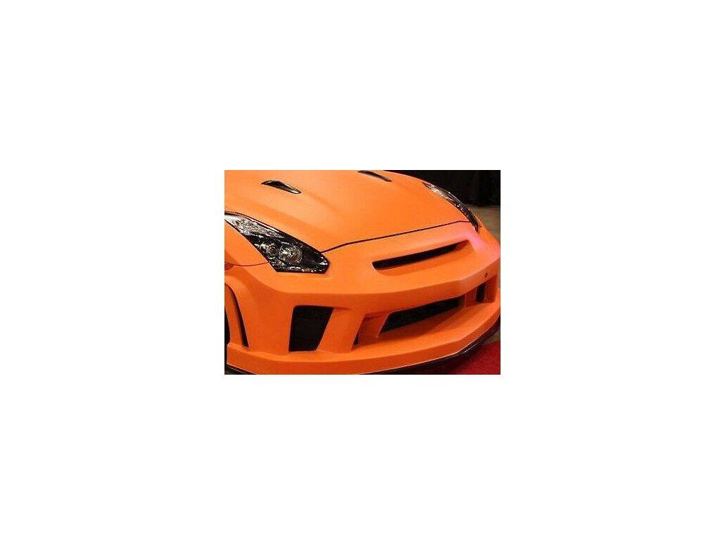 3D oranžová karbon teck