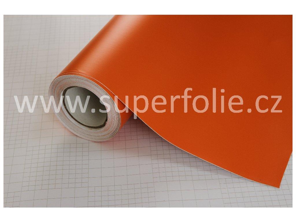 Superfolie autofólie Matná oranžová, kanálky