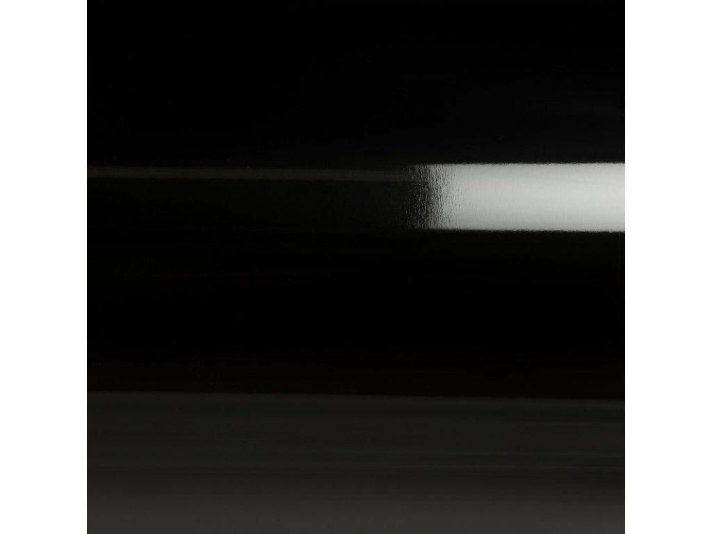 Grafiwrap Výprodej Černá lesklá bez kanálků 153 x 79 cm