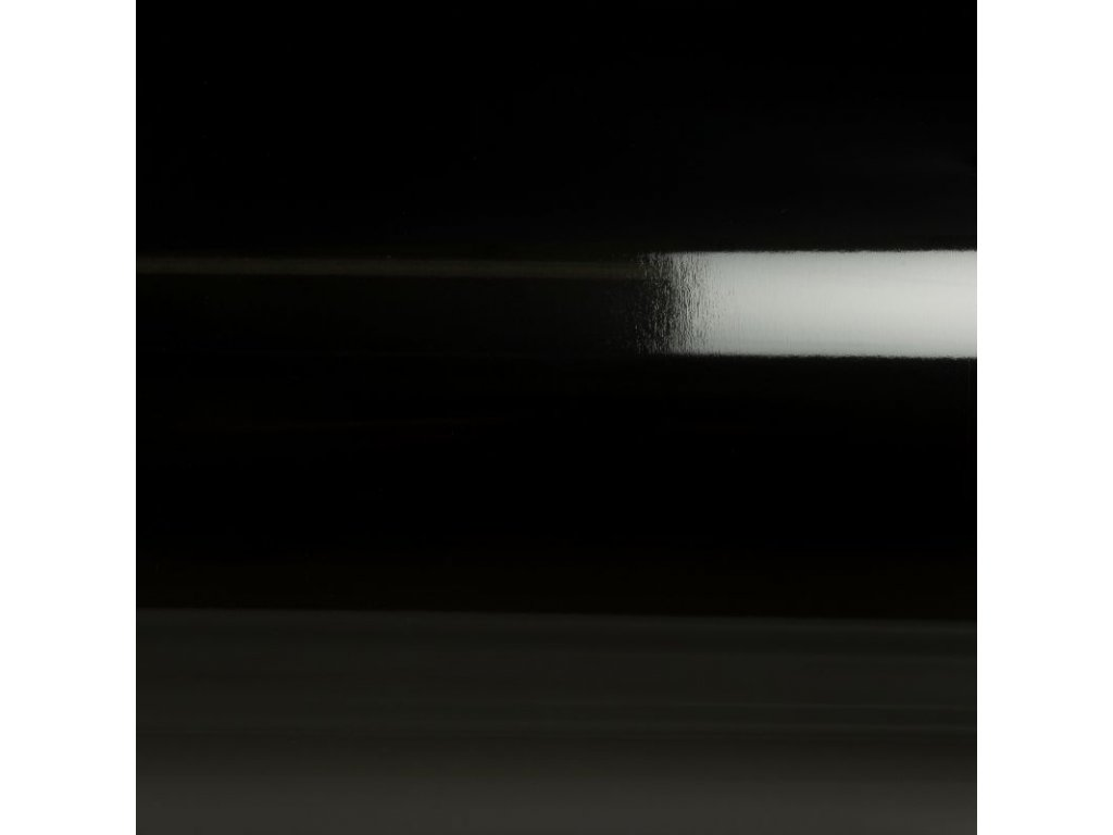 Grafiwrap Výprodej Černá lesklá kanálky 99 x 100 cm