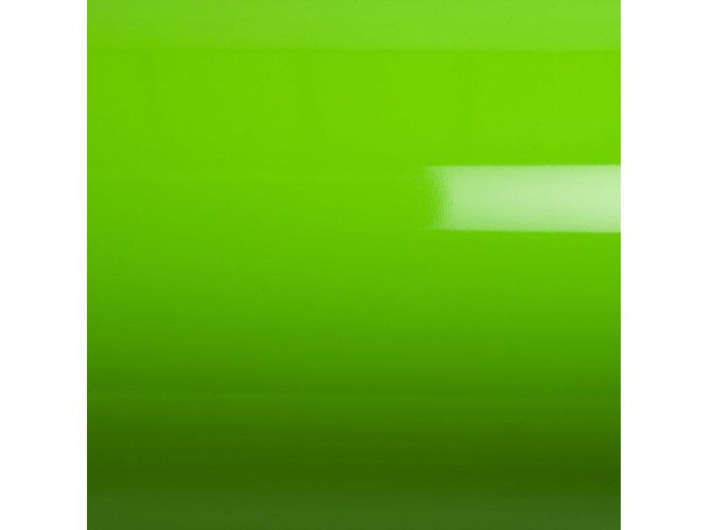 Grafiwrap Výprodej Zelená lesklá bez kanálků 152 x 110 cm