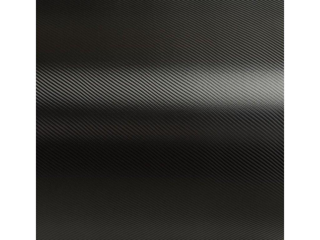 Grafiwrap autofólie Černá karbonová litá s kanálky 62 x 100 cm