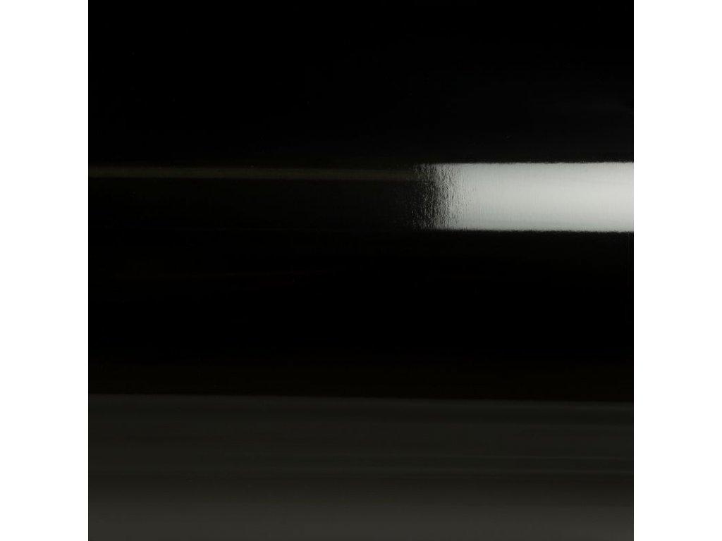 Grafiwrap Výprodej Černá lesklá kanálky 88 x 20 cm