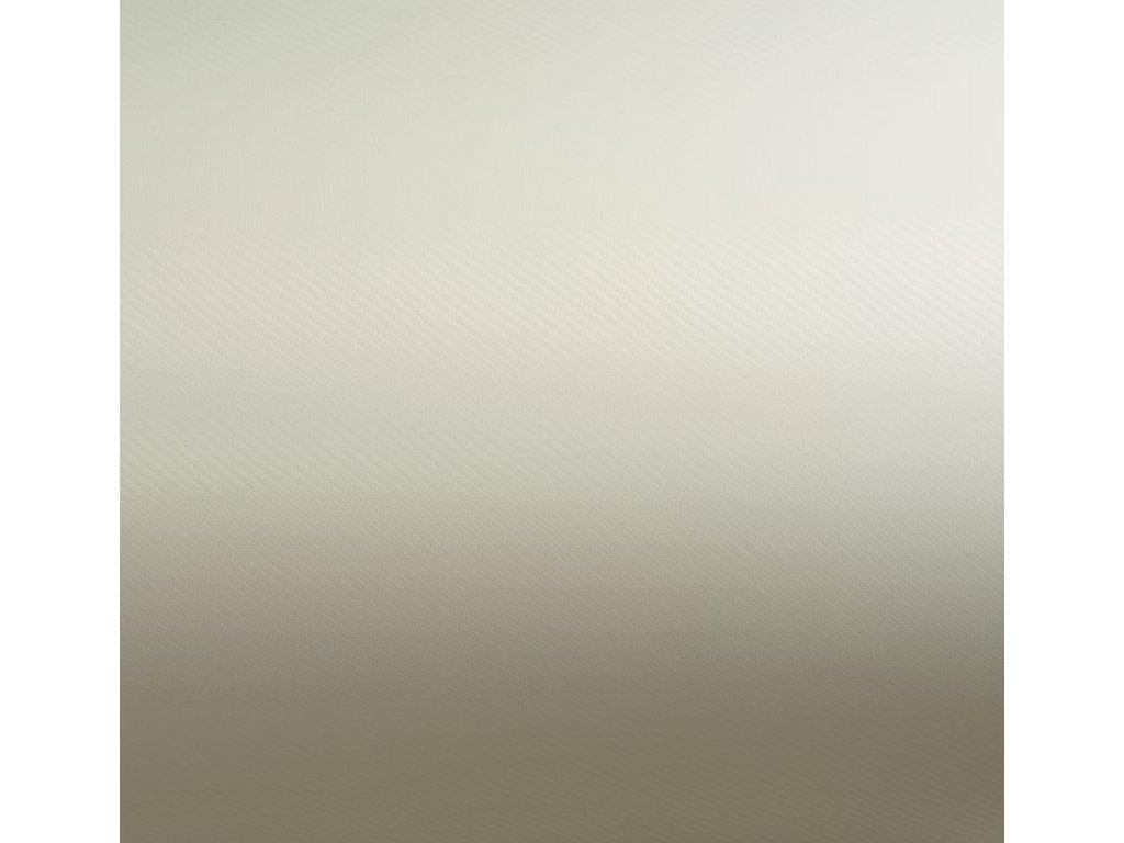 Grafiwrap autofólie Bílá perleťová karbon bez kanálků 152 x 90 cm