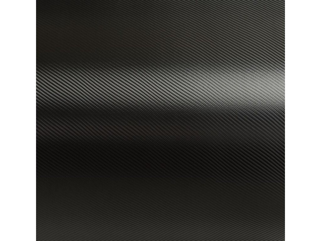 Grafiwrap autofólie Černá karbonová litá s kanálky 74 x 150 cm