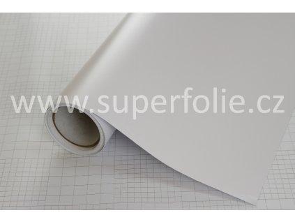 Superfolie autofólie Bílá matná, kanálky
