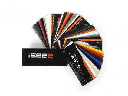 ISee2 Vzorníky autofólií Vzorník fólií Isee2
