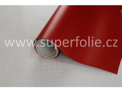 Superfolie autofólie Červená matná, kanálky
