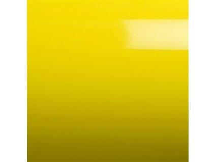 Grafiwrap Lesklé autofólie Žlutá taxi s kanálky