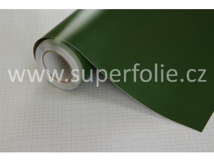 Superfolie autofólie Army zelená matná, kanálky
