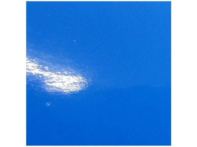 Mořská modrá lesklá KPMF, bez kanálků
