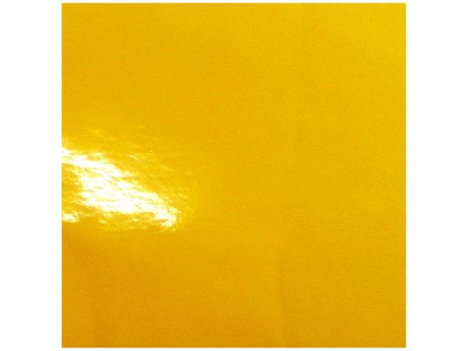 Slunečnicově žlutá lesklá KPMF, kanálky