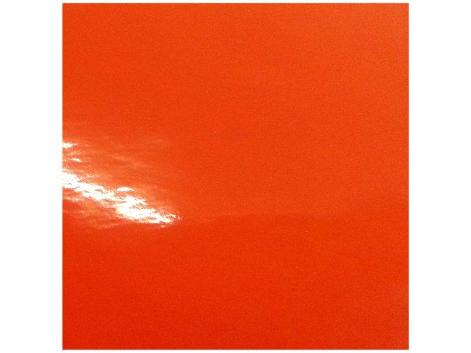 Oranžová lesklá KPMF, bez kanálků