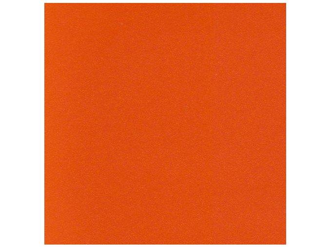 Oranžová matná KPMF, bez kanálků