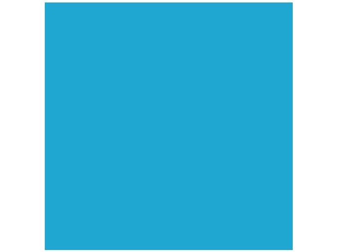 Nebesky modrá matná KPMF, bez kanálků