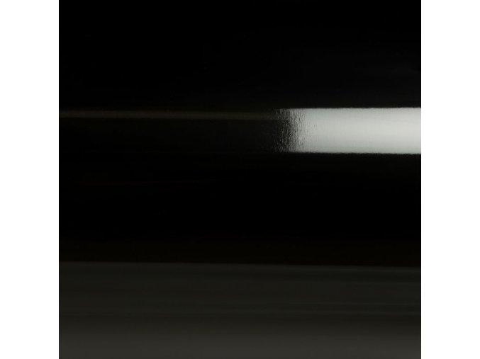Černá lesklá Grafiwrap, kanálky