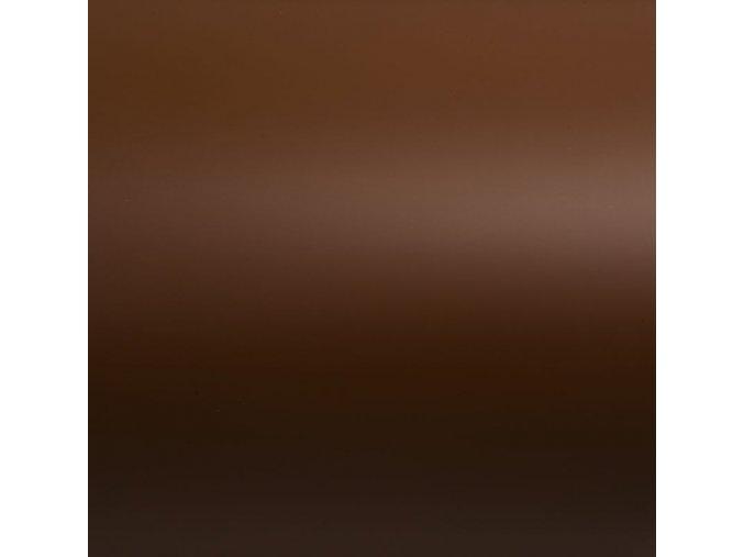 Čokoládově hnědá matná Grafiwrap, bez kanálků