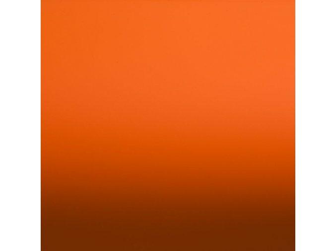 Oranžová matná Grafiwrap, bez kanálků