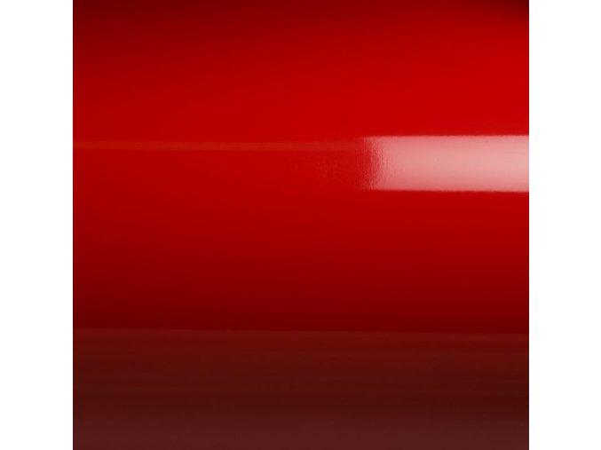 Červená lesklá Grafiwrap, bez kanálků