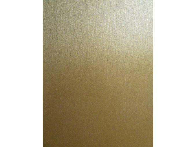 Zlatý broušený hliník Grafiwrap, kanálky