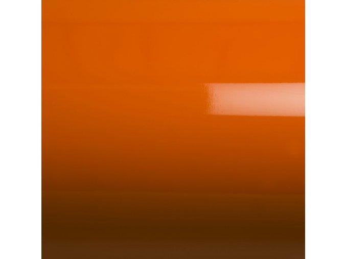 Oranžová lesklá Grafiwrap, bez kanálků